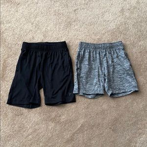 Old Navy Bottoms - Old navy Active Shorts bundle gray and black 5(xs)